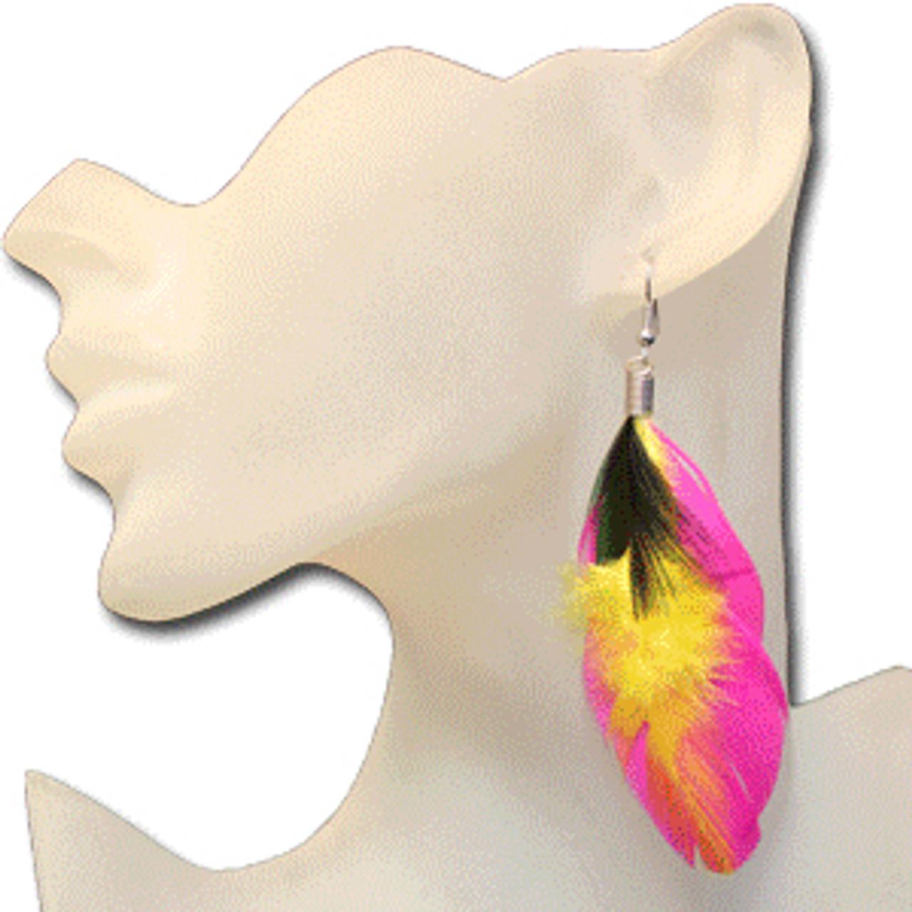 Wholesale feather earrings