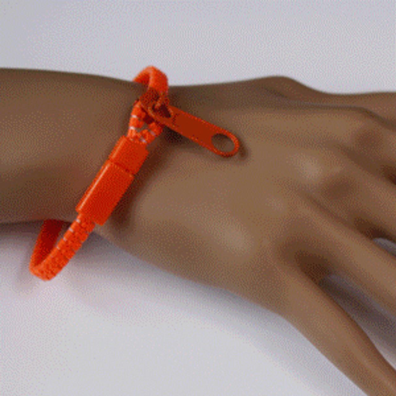 wholesale zipper bracelets