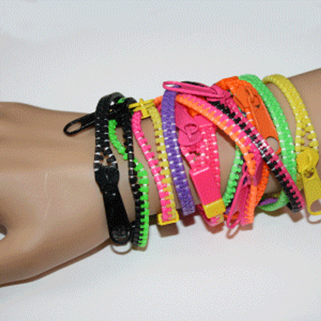 cheap zipper bracelets