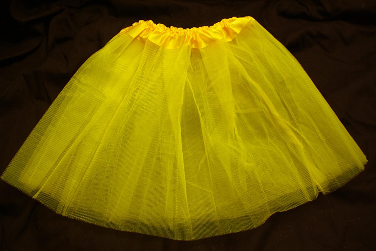 Yellow tutus