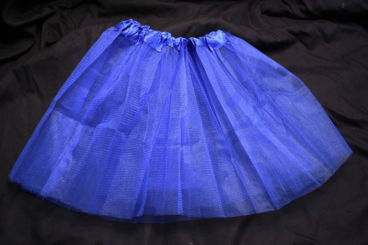 Blue tutus
