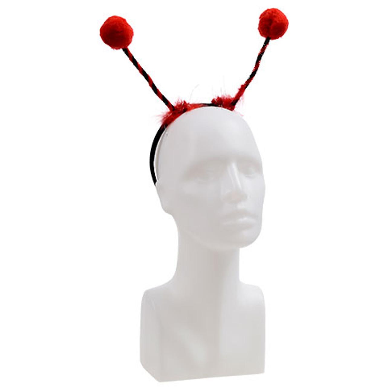 Lady bug antennae headband tiaras