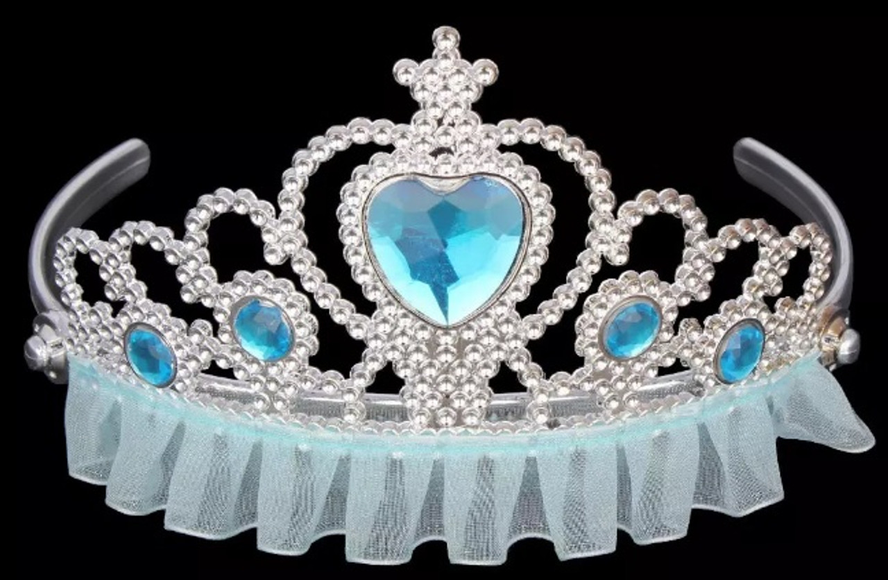 Light blue princess tiara