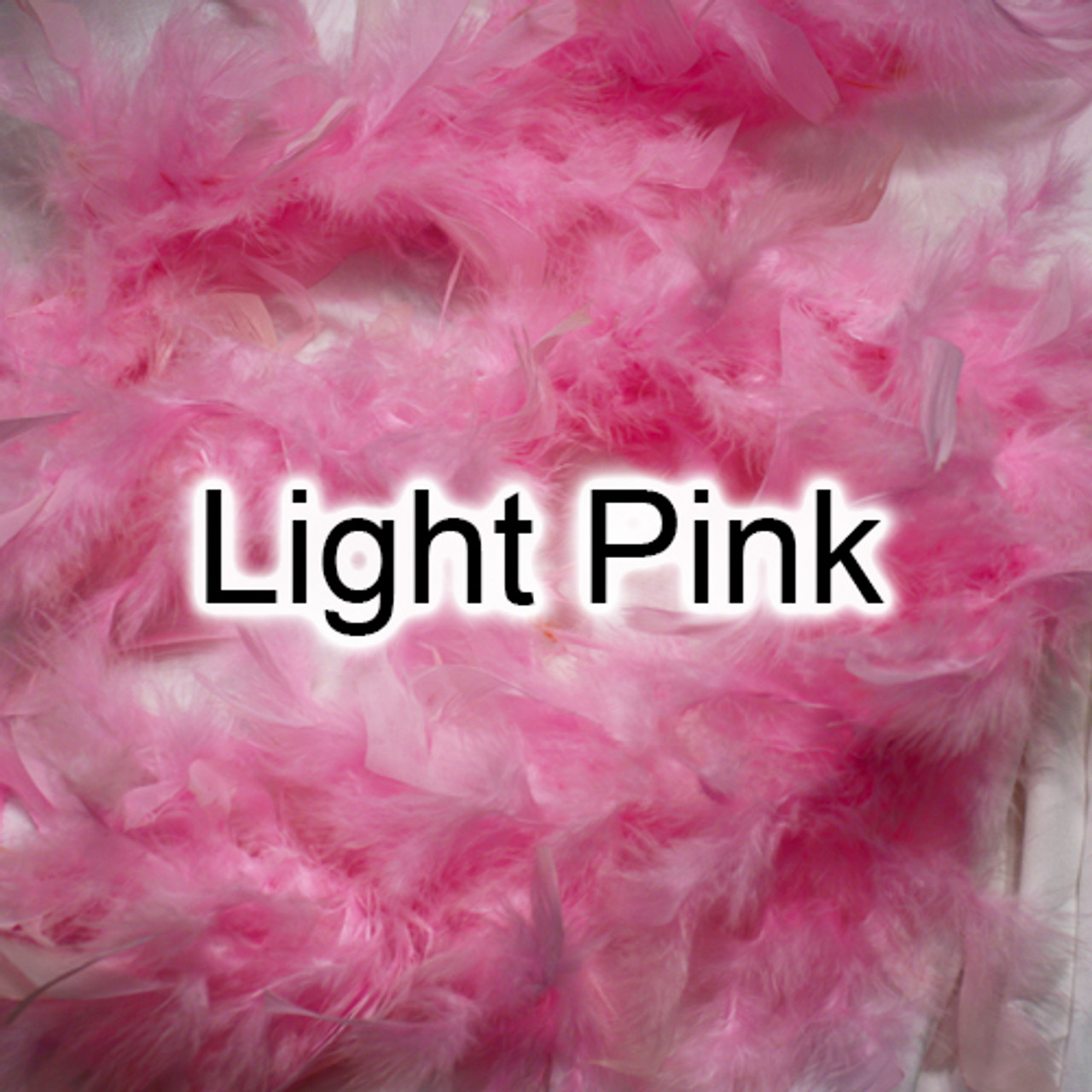 Light pink feather boa
