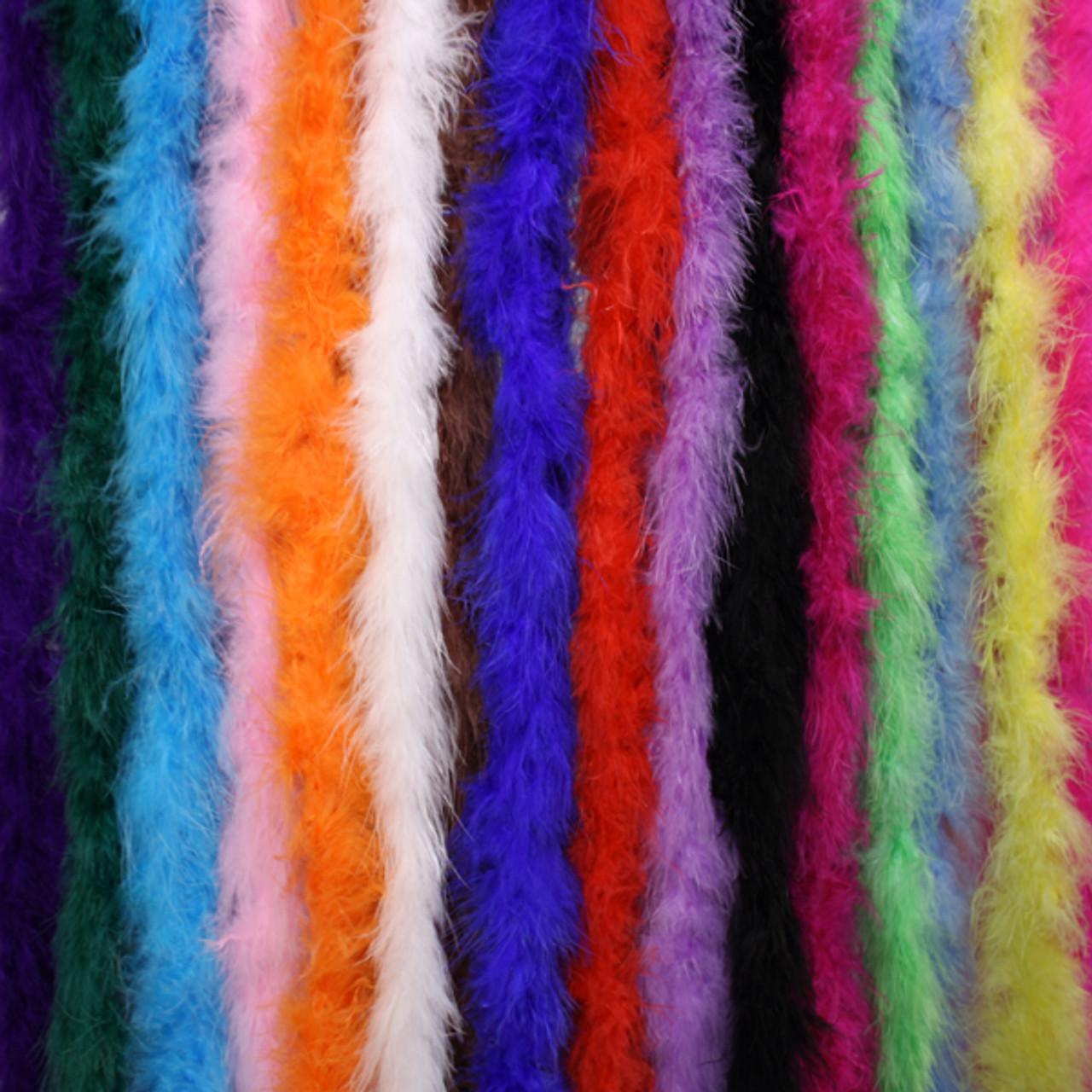 Marabou feather boas,  cheap marabou boas, wholesale marabou boas