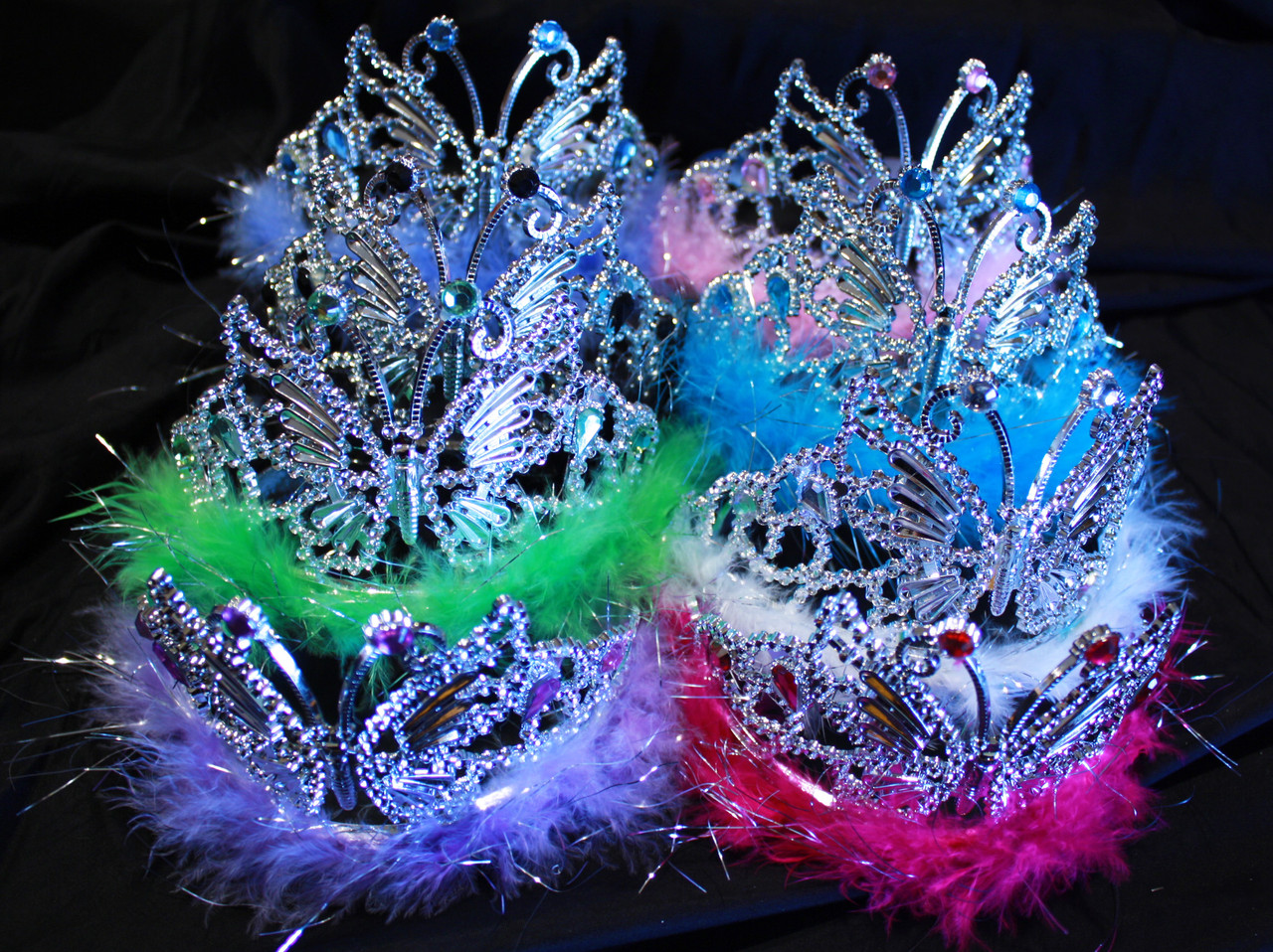 Cheap butterfly tiara, wholesale butterfly tiara