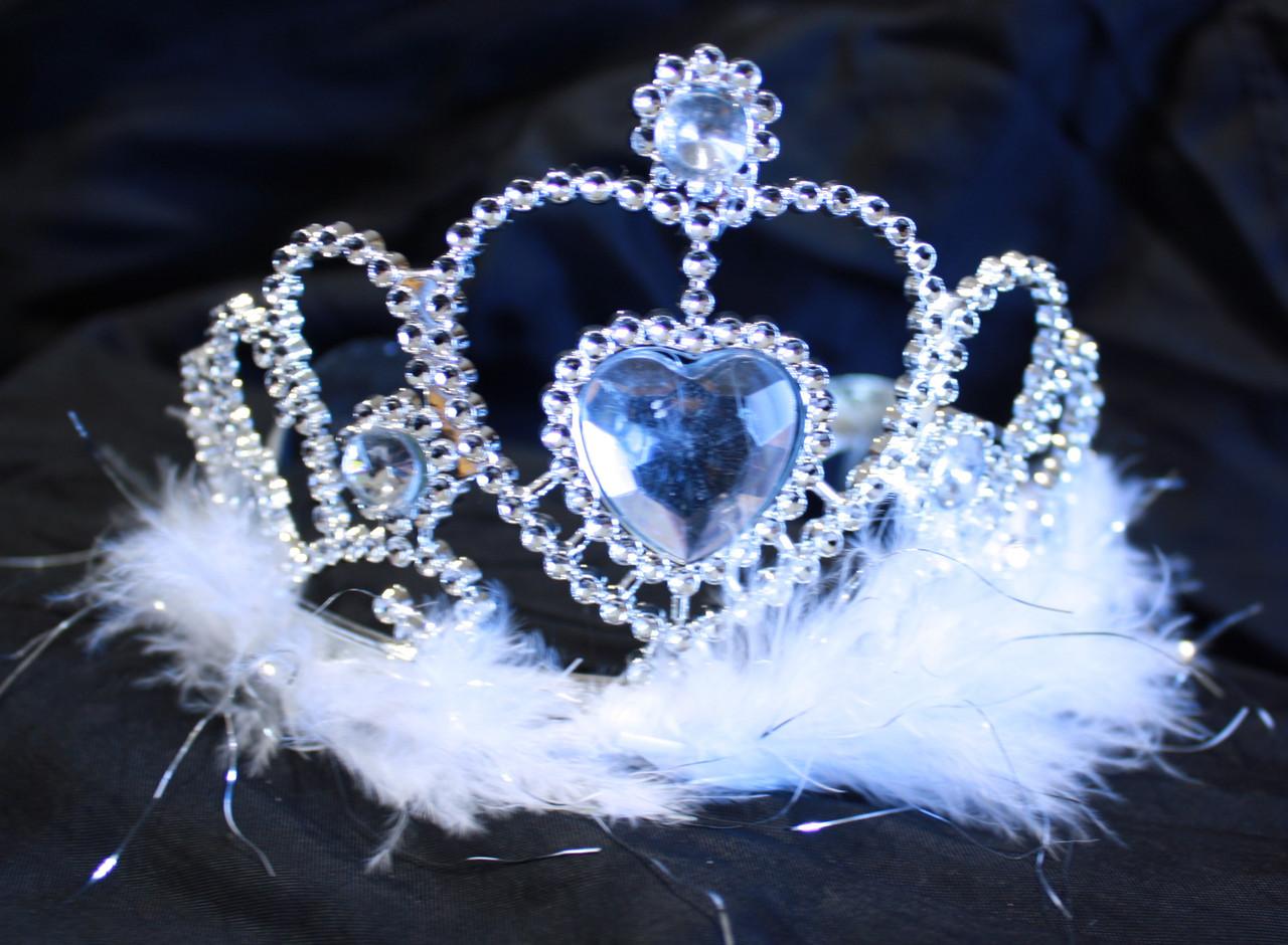 White princess tiaras