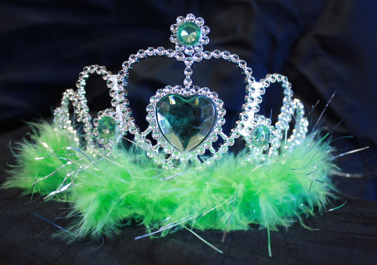 Lime princess tiaras