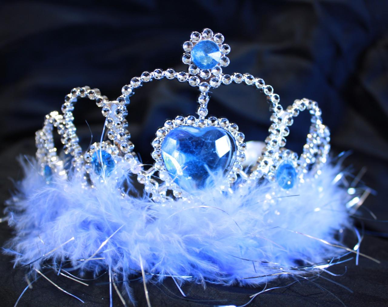 Light blue tiaras