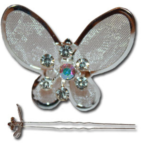 Cheap butterfly hair pin