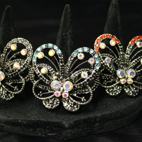 Wholesale butterfly rings