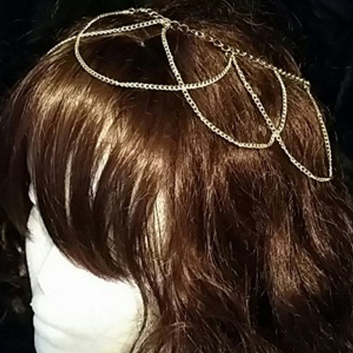 Chain hair wrap