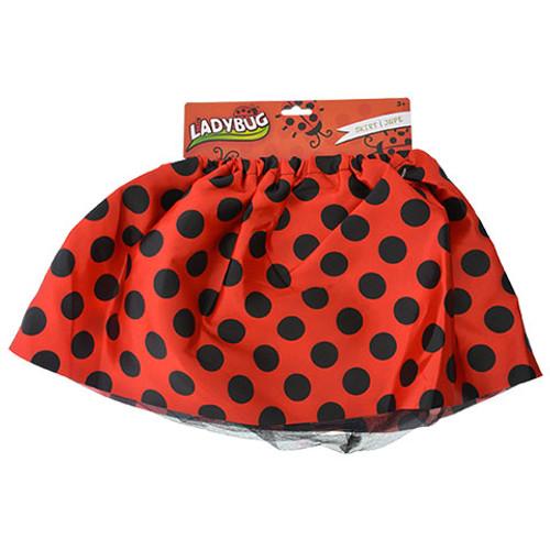 Lady bug tutu skirt