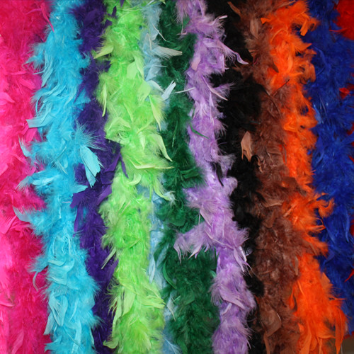 Kids feather boas, cheap feather boas, wholesale feather boas and chandelle feather boas.