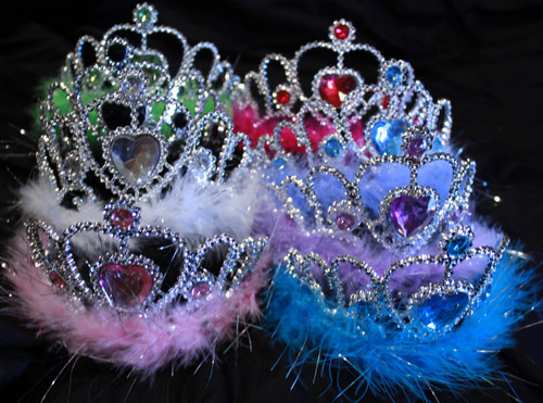 Princess tiaras, princess crowns
