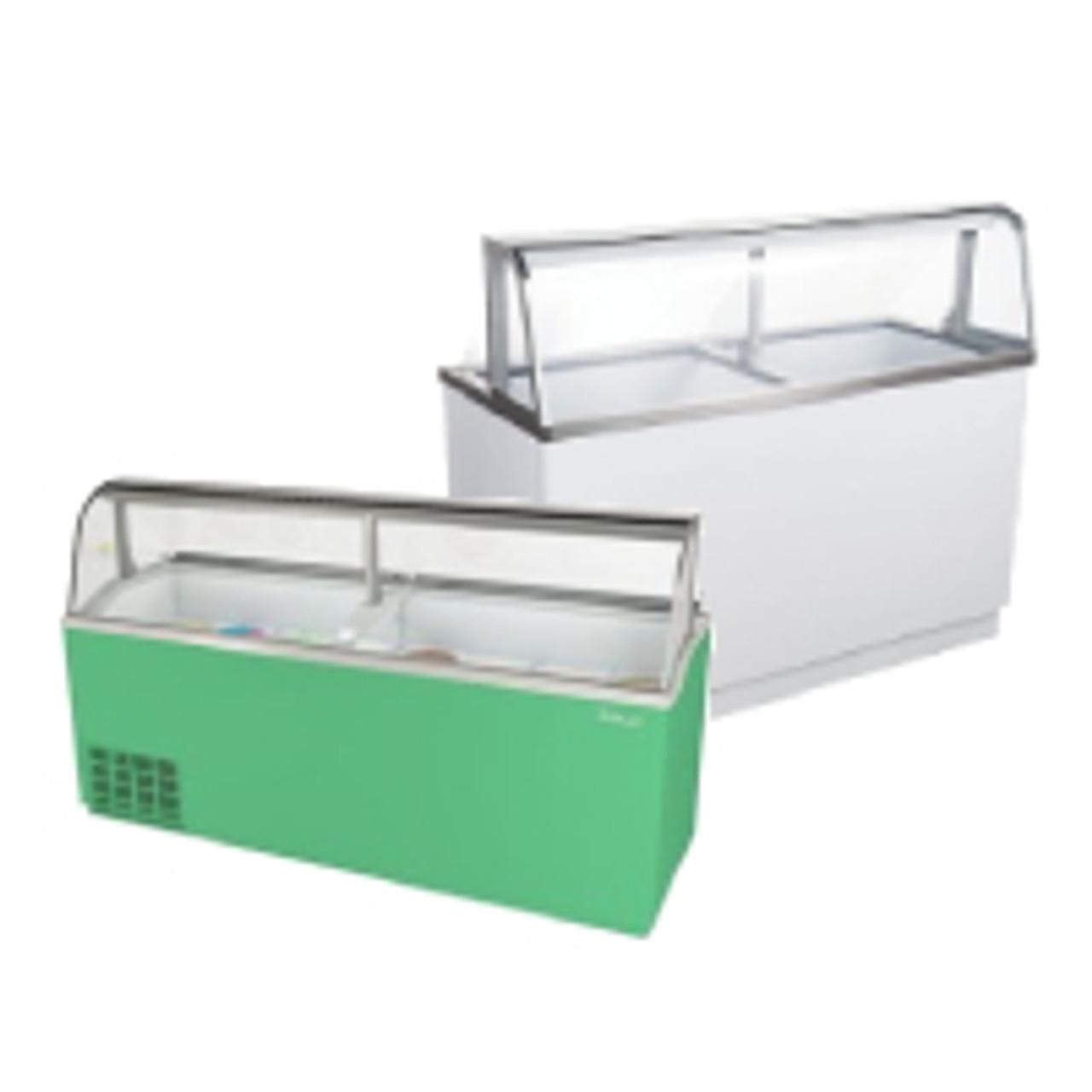 Ice Cream Machine and Storage
