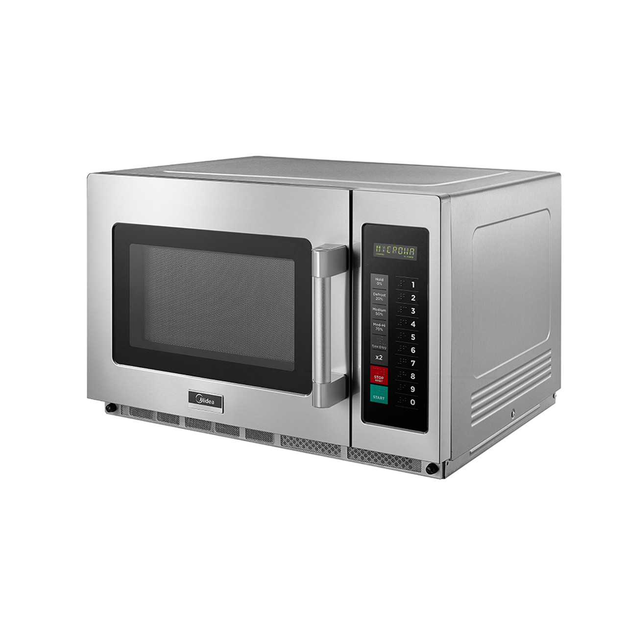 Stainless Steel Midea 1034N0A Commercial Microwave