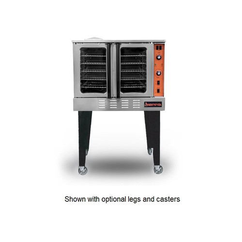 Sierra SRCO-1 Full Size Gas Convection Oven, Natural Gas