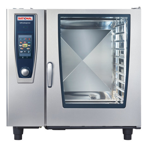 Rational B128206.19E SelfCookingCenter Model 102 10-Pan Natural Gas Single Combi Oven - 208/240V, 170,000 BTU