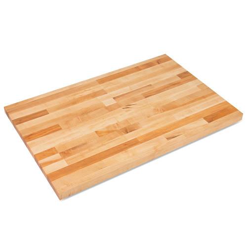 """JOHN BOOS SC011-O Maple Table Top, 30""""W x 48""""L x 1-3/4"""", Non-Reversible"""