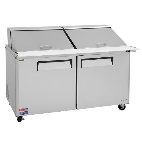 """Turbo Air MST-60-24-N 60"""" Mega Top Sandwich Salad Prep Table - 2 Doors"""