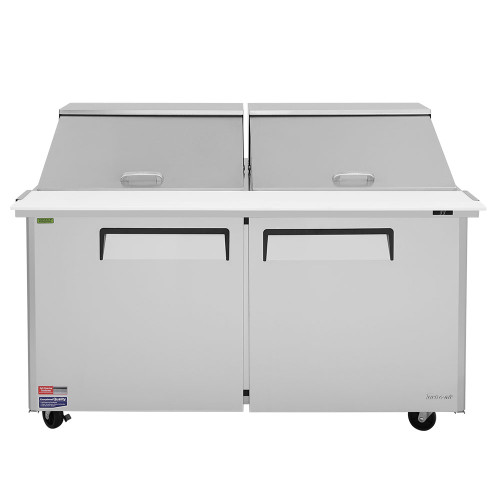 "Turbo Air MST-60-24-N 60"" Mega Top Sandwich Salad Prep Table - 2 Doors"