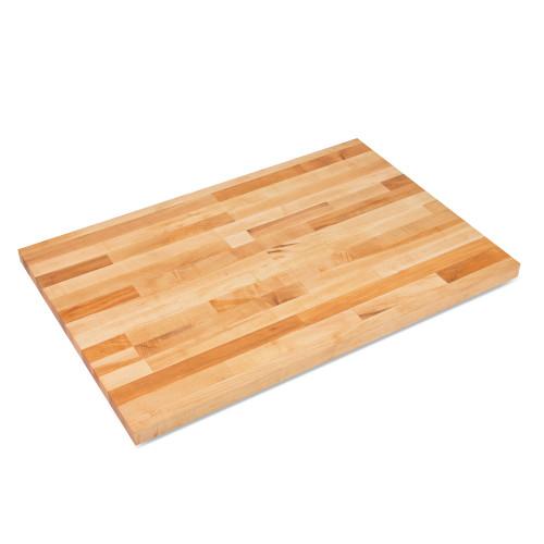 """JOHN BOOS SC020-O Maple Table Top, 36""""W x 48""""L x 1-3/4"""", Non-Reversible"""