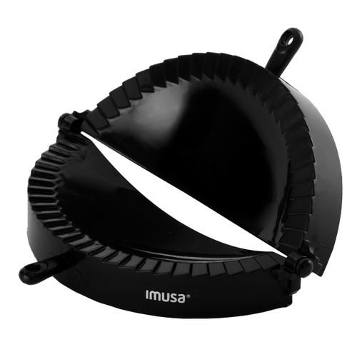 Imusa IMU-71006W Jumbo Empanada Maker, Black