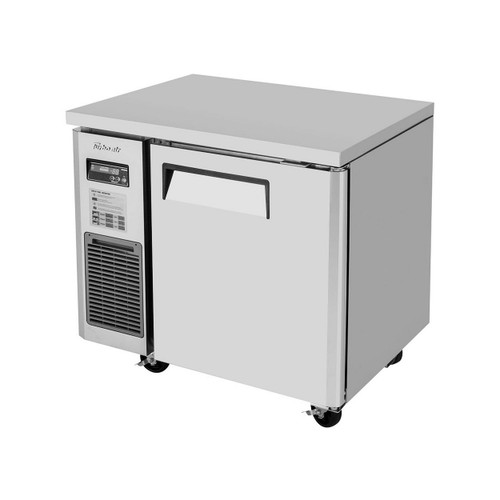 Turbo Air JUF-36-N J Series Undercounter Freezer, Side Mount, 1 Solid Door