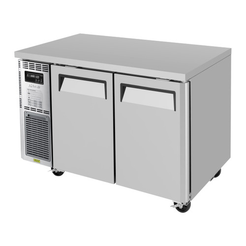 Turbo Air JUF-48-N Undercounter Freezer, Side Mount, 2 Sections