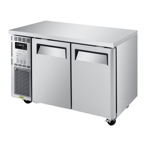 Turbo Air JUF-48S-N Undercounter Freezer, Side Mount, Narrow Depth, 2 Sections