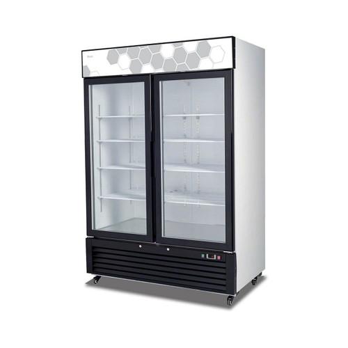 Migali C-49FM 49 cu/ft Glass Door Merchandiser Freezer