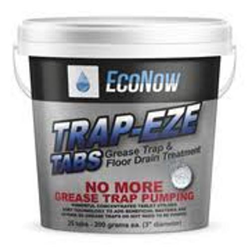 """ECONOW TE025 Trap-Eze Tabs, 25 pcs, 3"""" (200 gram) each"""