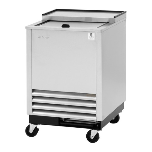 Turbo Air TBC-24SD-GF-N6 Glass Chiller & Froster, 1 Lid, Stainless Steel Exterior