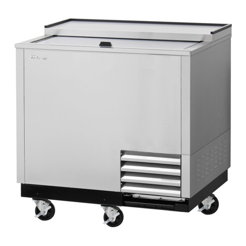 Turbo Air TBC-36SD-GF-N Glass Chiller & Froster, 1 Lid, Stainless Steel Exterior
