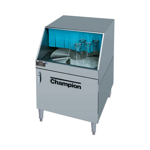 Champion CG Rotary Type Series Fully Automatic Glasswashing Machine, 208-230V