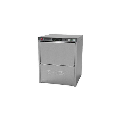 Champion UH330ADA Undercounter High Temperature Dishwashing Machine with Built-in Booster Heater