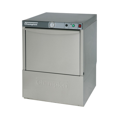 Champion UL-130 Undercounter Low Temperature Dishwashing Machine, 115V
