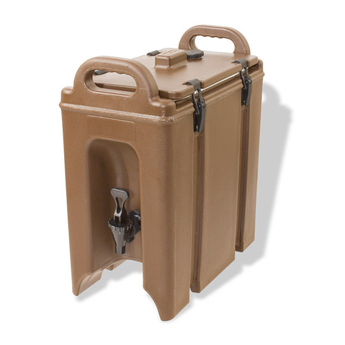 Crestware BEV2.5 Beverage Dispenser, 2.5 gal, Insulated, Brown