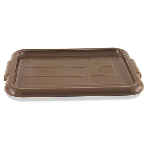 """Crestware BTLIDBR Bus Tub Lid, 20-1/2""""x15-1/2"""", Brown, Plastic"""