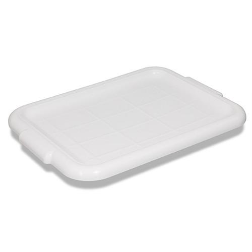 "Crestware BTLIDWH Bus Tub Lid, 20-1/2""x15-1/2"", White, Plastic"
