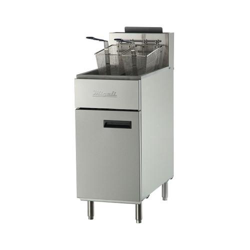 Migali C-F40 40 lb Gas Fryer - 90,000 BTU (C-F40)