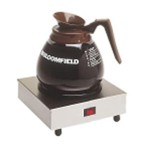 "Bloomfield 8851S Coffee Warmer, single station, 3""x7""x7"" 120V"