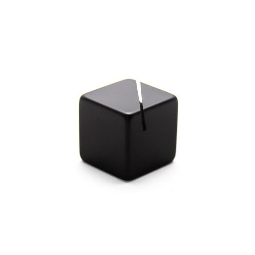 "American Metalcraft ACB118 Black Acrylic Cube Card Holder, 1-1/8"" Sq."