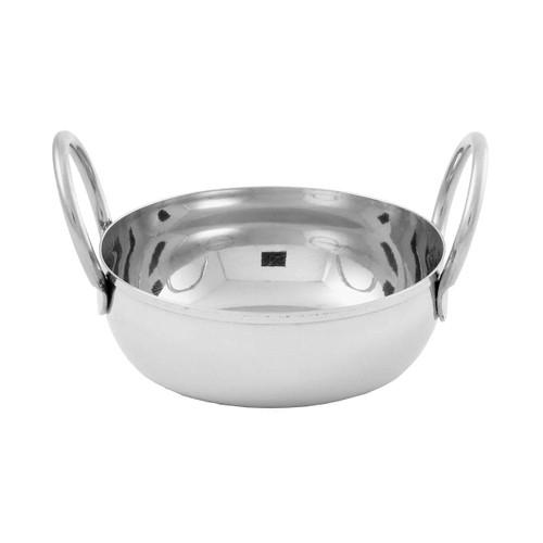 American Metalcraft BD35 10 Oz. Stainless Steel Balti Dish