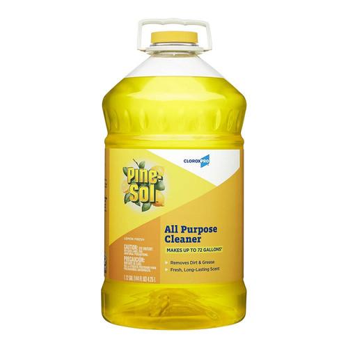 R3 35419 Pine-Sol Lemon Fresh Cleaner, 144 Oz