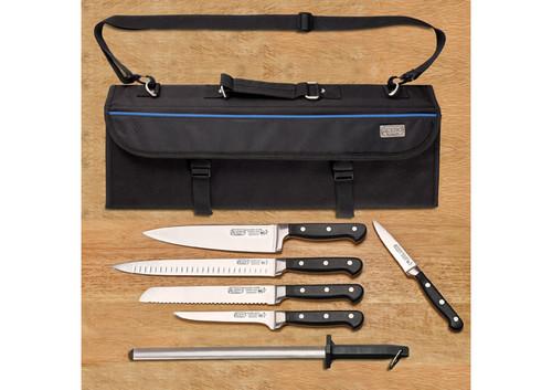 Winco KFP-KITA Acero Cutlery Set, 7-Piece