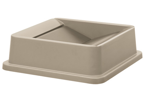 Winco PTCSL-35BE Lid, Square, Polystyrene, Beige