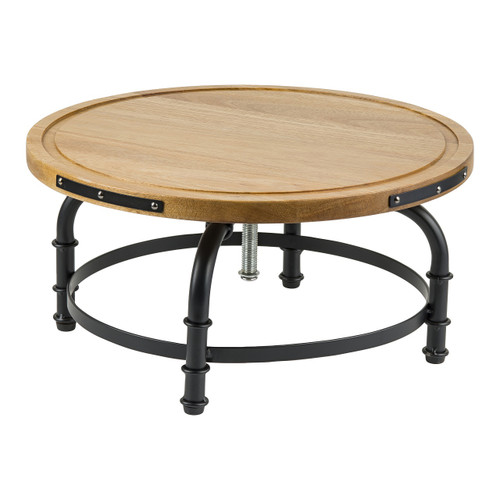 """Tablecraft 10086 Rotating Cake Stand with Adjustable Height, 13"""" x 6"""""""