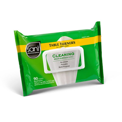 Sani Professional A580FW Cleaning Wipes, 90 Count